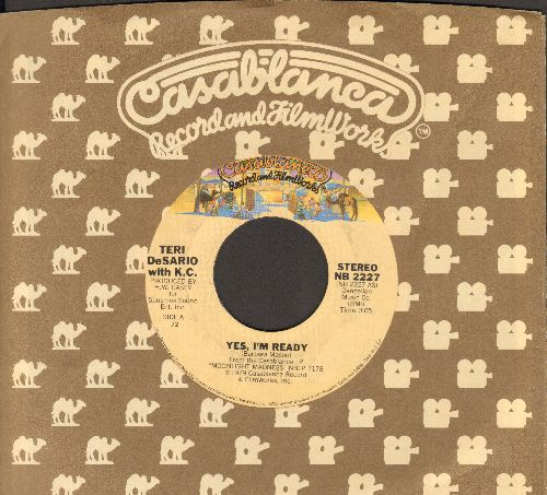 DeSario, Teri - Yes, I'm Ready/With Your Love (with Casablanca company sleeve) - NM9/ - 45 rpm Records
