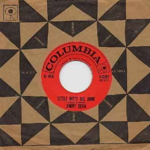 Dean, Jimmy - Little Bitty Big John/Steel Men (with Columbia company sleeve) - EX8/ - 45 rpm Records