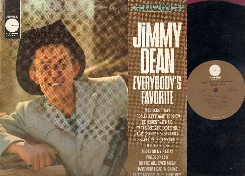 Dean, Jimmy - Everybody' Favorite: Mile Long Train, I Really Don't Want To Know, Be Honest With Me, (Remember Me) I'm The One Who Loves You, Time Changes Everything, Sweet Georgia Brown, This Ole House, Tears On My Pillow, Philosophizin', No One Will Ever
