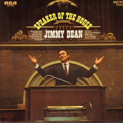 Dean, Jimmy - Speaker Of The House: Mama Sang A Song, Old Rivers, Little Things, The Same Old Song (Vinyl STEREO LP record) - M10/NM9 - LP Records