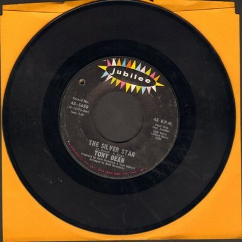 Dean, Tony - The Silver Star/I Wear The Shoes Of A Man (ULTRA-SENTIMENTAL Vietnam Era Novelty two-sider) (bb) - EX8/ - 45 rpm Records