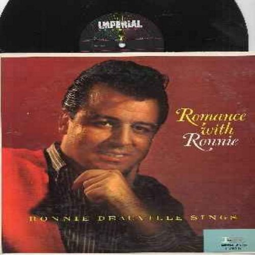 Deauville, Ronnie - Romance With Ronnie: Dream Girl, Deep In Love, Nice Work If You Can Get It, The Glory Of Love, Unchained Melody 9vinyl MONO LP record) - NM9/EX8 - LP Records