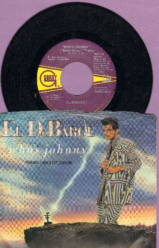 DeBarge - Who's Johnny (-Short Circuit- Theme)/Love In A Special Way (with picture sleeve) - NM9/VG6 - 45 rpm Records