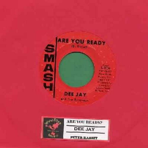 Dee Jay & The Runaways - Are You Ready (FANTASTIC Bubblegum Sound!)/Peter Rabbit (with juke box label) - VG7/ - 45 rpm Records