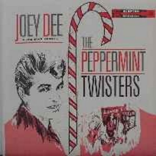 Dee, Joey & The Starliters - The Peppermint Twisters: Shimmy Baby, The Twister, These Memories, The Face Of An Angel, Lonely Island, Come Back To Me (Vinyl MONO LP record, NICE condition!) - NM9/EX8 - LP Records