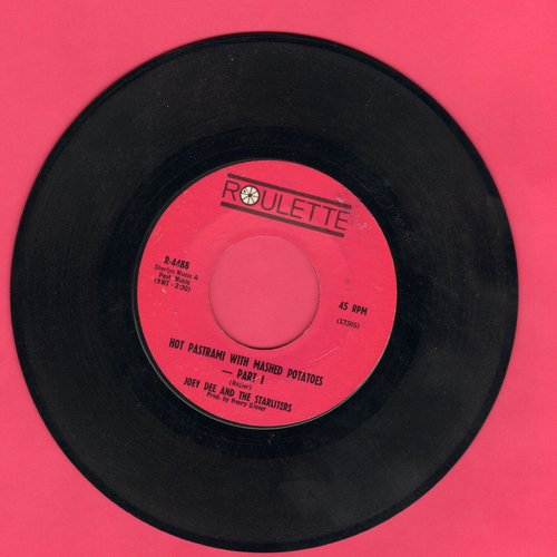 Dee, Joey & The Starliters - Hot Pastrami With Mashed Potatoes (Parts 1+2) (bb) - VG7/ - 45 rpm Records