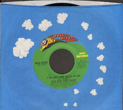 Dee, Kiki Band - I've Got The Music In Me/Simple Melody (with company sleeve) - NM9/ - 45 rpm Records