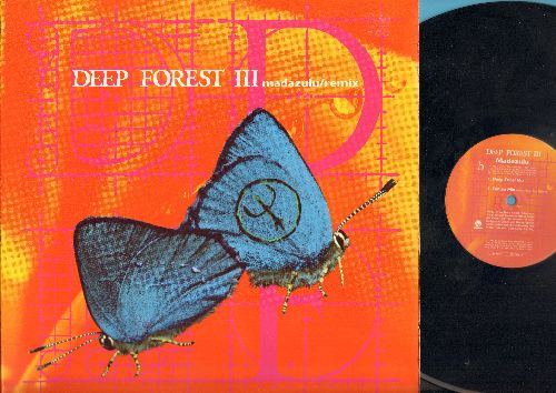 Deep Forest III - Madazulu (BBE Harmonic Club Mix), Madazulu (BBE Square Mix), Madazulu (Deep Tribal Mix), Madazulu (Vinyl Maxi Record) (sticker residue cover) - EX8/NM9 - Maxi Singles