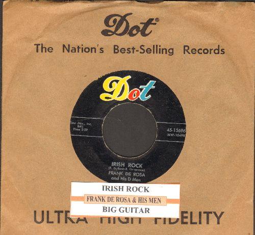De Rosa, Frank & His Men - Irish Rock/Big Guitar (with juke box label and vintage Dot company sleeve) - EX8/ - 45 rpm Records