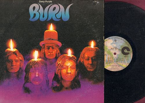 Deep Purple - Burn: Sail Away, You Fool No One, What's Goin' On Here (vinyl LP record) - VG7/VG7 - LP Records