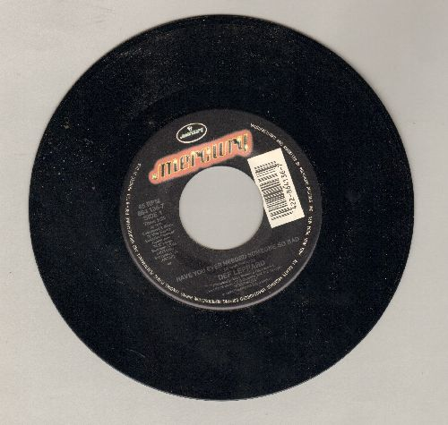 Def Leppard - Have You Ever Needed Someone So Bad/Elected (LIVE) - NM9/ - 45 rpm Records