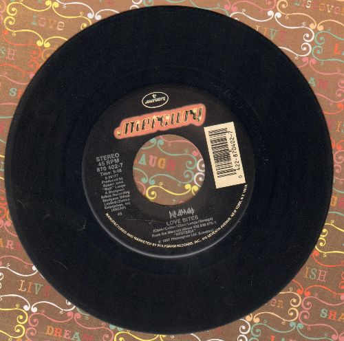 Def Leppard - Love Bites/Billy's Got A Gun (LIVE) - EX8/ - 45 rpm Records