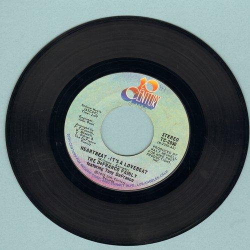 De Franco Family - Heartbeat, It's A Lovebeat/Sweet, Sweet Loretta - EX8/ - 45 rpm Records