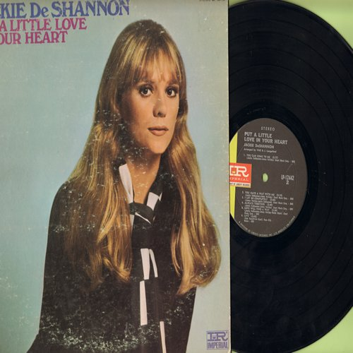 DeShannon, Jackie - Put A Little Love In Your Heart: You Can Come To Me, Love Will Find A Way, Mam's Song, You Are The Real Thing (Vinyl STEREO LP record) - EX8/VG7 - LP Records