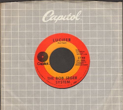 Seger, Bob System - Lucifer/Big River (with Capitol company sleeve) - EX8/ - 45 rpm Records