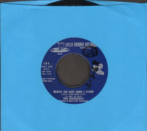 Delfonics - Ready Or Not Here I Come (Can't Hide From Love)/Somebody Loves You (wol) - NM9/ - 45 rpm Records