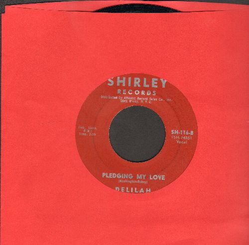 Delilah - Pledging My Love/Packin' Up - NM9/ - 45 rpm Records