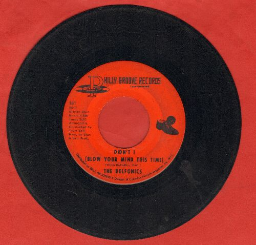 Delfonics - Didn't I (Blow Your Mind This Time)/Down Is Up, Up Is Down - VG6/ - 45 rpm Records
