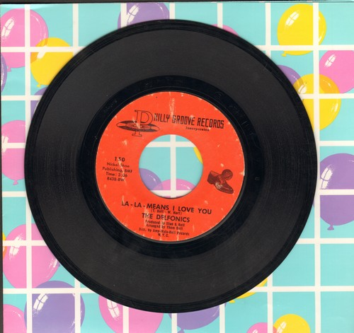 Delfonics - La-La-Means I love You/Can't Get Over Losing You (bb) - VG7/ - 45 rpm Records