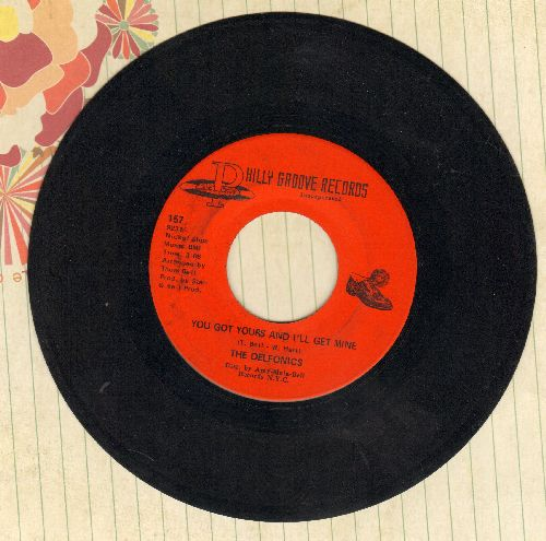 Delfonics - You Got Your And I'll Get Mine/Loving Him - VG7/ - 45 rpm Records