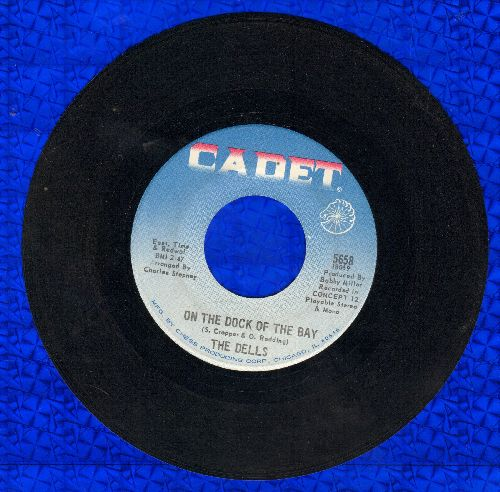 Dells - On The Dock Of The Bay/When I'm In Your Arms - NM9/ - 45 rpm Records