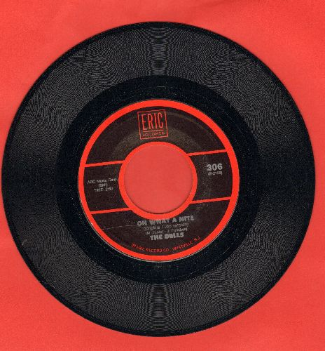 Dells - Oh What A Night/At My Front Door (Crazy Little Mama) (by The El Dorados on flip-side, doube-hit re-issue) - NM9/ - 45 rpm Records