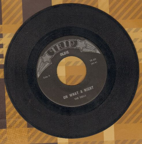 Dells - Oh What A Day/Pain In My Heart (early doube-hit re-issue) - VG7/ - 45 rpm Records