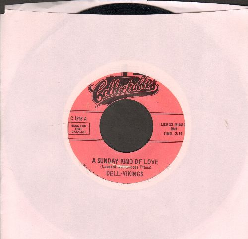 Dell Vikings - A Sunday Kind Of Love/Cool Shake (double-hit re-issue of vintage Doo-Wop recordings) - EX8/ - 45 rpm Records