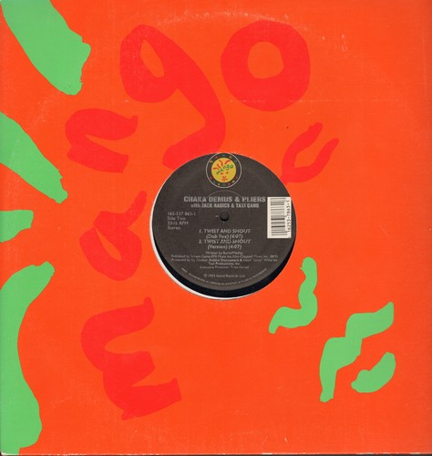 Demus, Chaka & Pliers - Twist And Shout - 12 inch vinyl Maxi Single featuring 3 different Extended Reggae/Dance Mixes + Bonus Track (DANCE CLUB FAVORITE!) - NM9/ - Maxi Singles