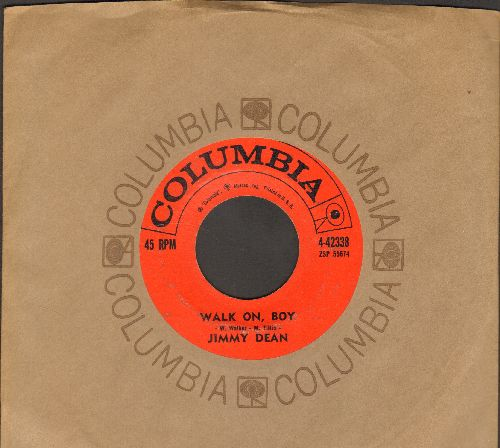 Dean, Jimmy - P.T. 109/Walk On, Boy (with Columbia company sleeve) - EX8/ - 45 rpm Records
