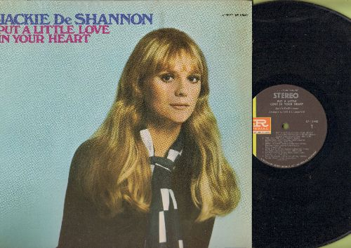 DeShannon, Jackie - Put A Little Love In Your Heart: Love Will Find A Way, You Are The Real Thing, Always Together (vinyl STEREO LP record) - NM9/EX8 - LP Records