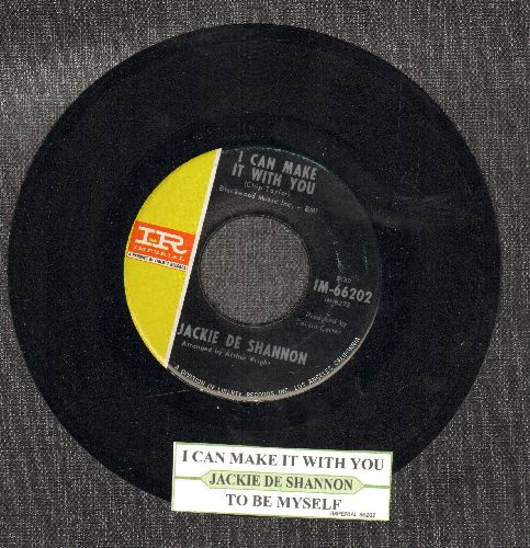 DeShannon, Jackie - I Can Make It With You/To Be Myself (with juke box label) - NM9/ - 45 rpm Records