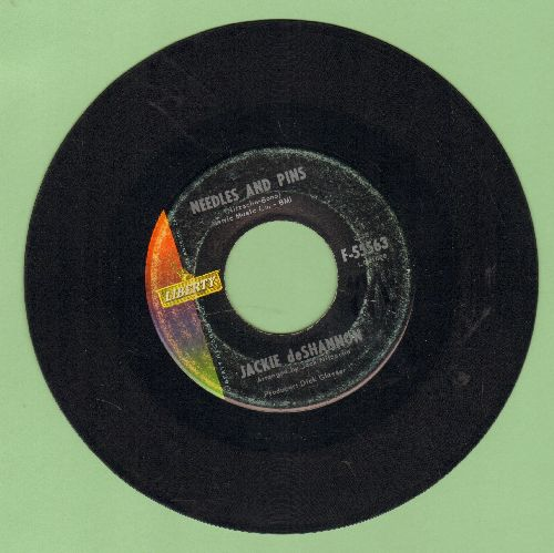 DeShannon, Jackie - Needles And Pins/Did He Call Toay, Mama? - VG7/ - 45 rpm Records