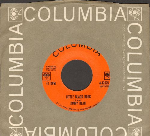 Dean, Jimmy - Little Black Book/Please Pass The Biscuits (with Columbia company sleeve) - EX8/ - 45 rpm Records