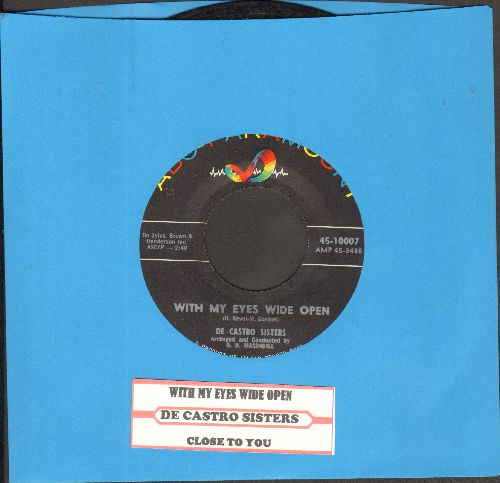 De Castro Sisters - Who Are They To Say/When You Look At Me - VG7/ - 45 rpm Records