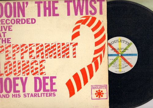 Dee, Joey & The Starliters - Doin' The Twist (Recorded Live at the Peppermint Lounge): Peppermint Twist, Shout, Mashed Potatoes, Fanny Mae, Ya Ya (Vinyl MONO LP record) - VG7/EX8 - LP Records