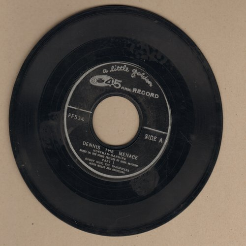 Nick, Bobby & The Sandpipers - Dennis The Menace (Parts 1 + 2) - EX8/ - 45 rpm Records