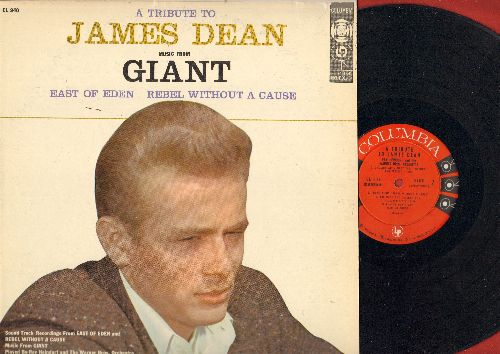 Heindorf, Ray & Warner Brothers Orchestra & Chorus - A Tribute To James Dean - Music From Giant, East Of Eden and Rebel Without A Cause (vinyl MONO LP record) - NM9/NM9 - LP Records
