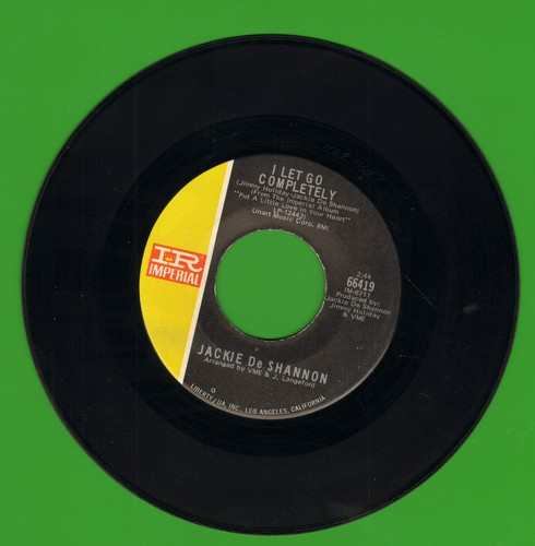 DeShannon, Jackie - I Let Go Completely/Love Will Find A Way - NM9/ - 45 rpm Records