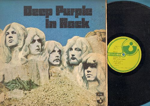Deep Purple - Deep Purple In Rock: Speed King, Bllodsucker, Child In Time, Flight Of The Rat, Into The Fire, Living Wreck (vinyl STEREO LP record, British Pressing, gate-fold cover) - VG7/VG7 - LP Records