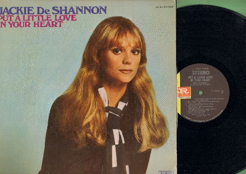 DeShannon, Jackie - Put A Little Love In Your Heart: You Can Come To Me, Love Will Find A Way, Mam's Song, You Are The Real Thing (vinyl STEREO LP record) - NM9/EX8 - LP Records