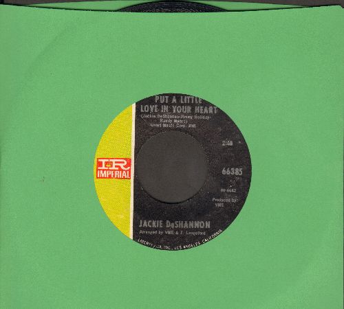 DeShannon, Jackie - Put A Little Love In Your Heart/Always Together  - EX8/ - 45 rpm Records