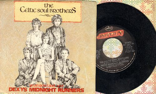 Dexy's Midnight Runners - The Celtic Soul Brothers (double-A-sided DJ advance pressing with picture sleeve) - NM9/NM9 - 45 rpm Records