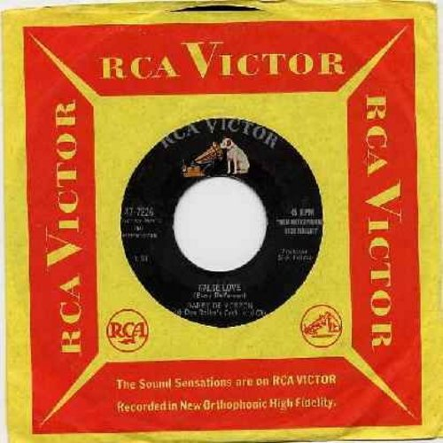 De Vorzon, Barry - False Love/Raindrops On My Window (with RCA company sleeve) - VG7/ - 45 rpm Records