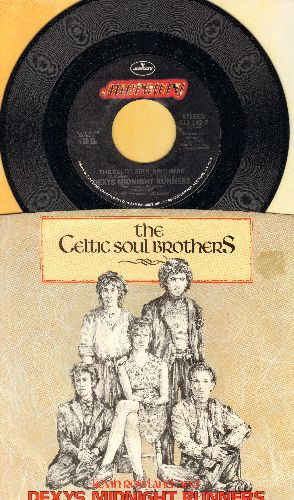 Dexy's Midnight Runners - The Celtic Soul Brothers/Reminisce Part 1 (with picture sleeve) - NM9/NM9 - 45 rpm Records