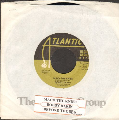 Darin, Bobby - Beyond The Sea/Mack The Knife (re-issue with company sleeve and juke box label) - VG7/ - 45 rpm Records