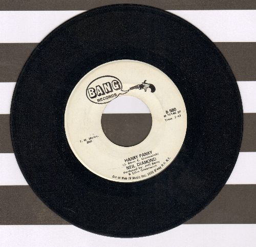 Diamond, Neil - Hanky Panky/Do It! (DJ advance pressing) (sol) - EX8/ - 45 rpm Records