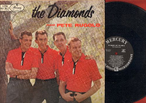 Diamonds - The Diamonds Meet Pete Rugolo: Ain't Misbehavin', For All We Know, One For My Baby (And One More For The Road), You'll Never Walk Alone, Lulu's Back In Town (viny MONO LP record) - EX8/VG7 - LP Records