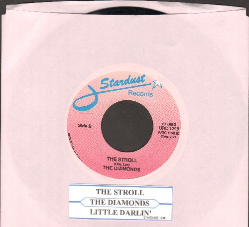 Diamonds - Little Darlin'/The Stroll (double-hit re-issue with juke box label)  - EX8/ - 45 rpm Records