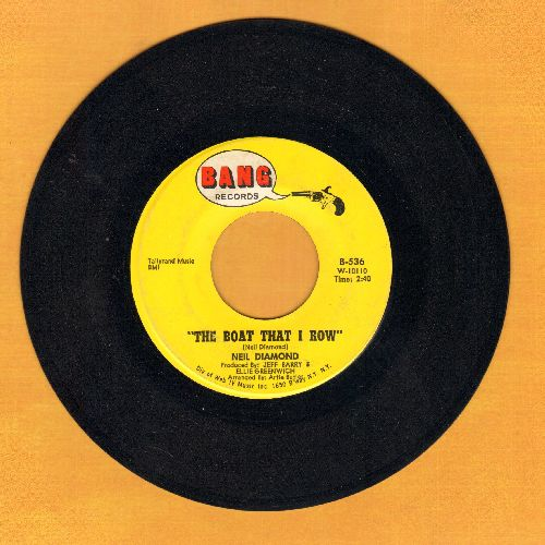 Diamond, Neil - The Boat That I Row/I Got The Feelin' (Oh No No) - EX8/ - 45 rpm Records